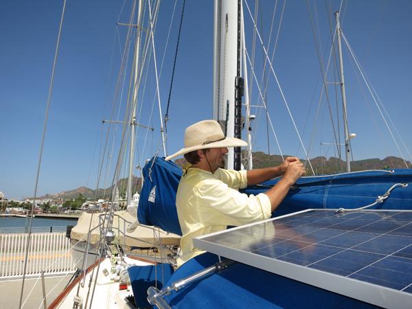 Bye bye main sail