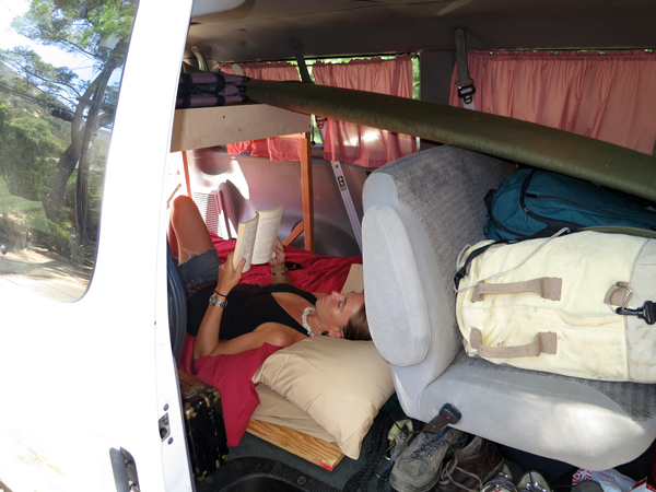 Road trippin' in the land-boat