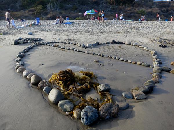 So much love at Topanga beach